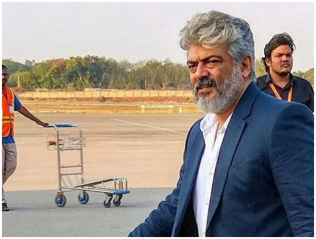 WOW: Ajith's new look for Thala 59 revealed
