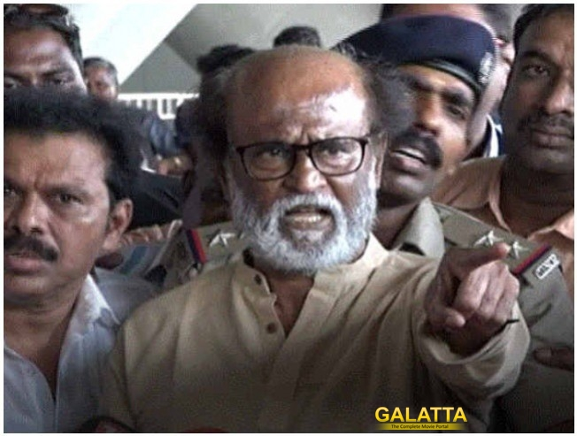 'Enough Is Enough' - Rajinikanth's Angry Statement!