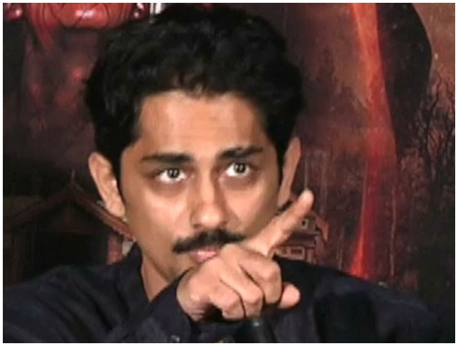 """Protect our heroes"": Siddharth issues new fiery statement"