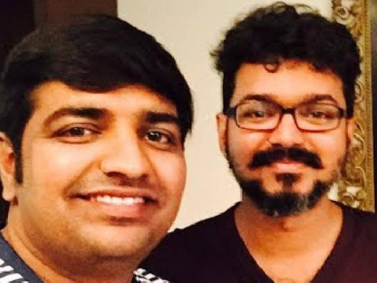 Sathish taunts Thalapathy Vijay fans with tweet of watching Master on TV! - Tamil Cinema News