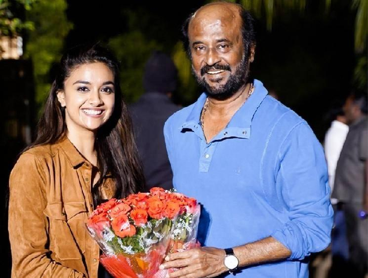 Keerthy Suresh reveals exciting details about her role in Rajinikanth's Annaatthe!