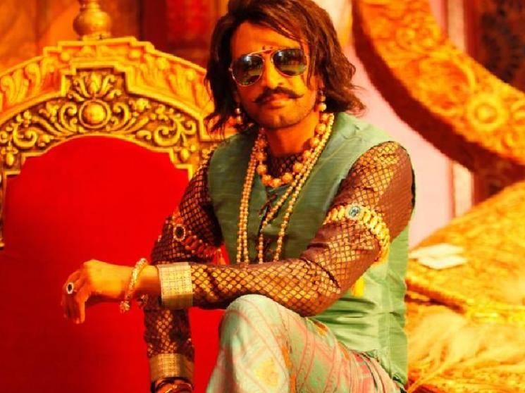Santhanam plays a King in his next film - transformation picture goes viral on social media!