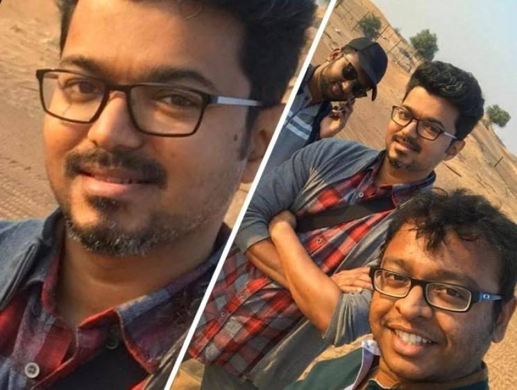 Thalapathy Vijay's tour with Atlee and team - New Picture Released