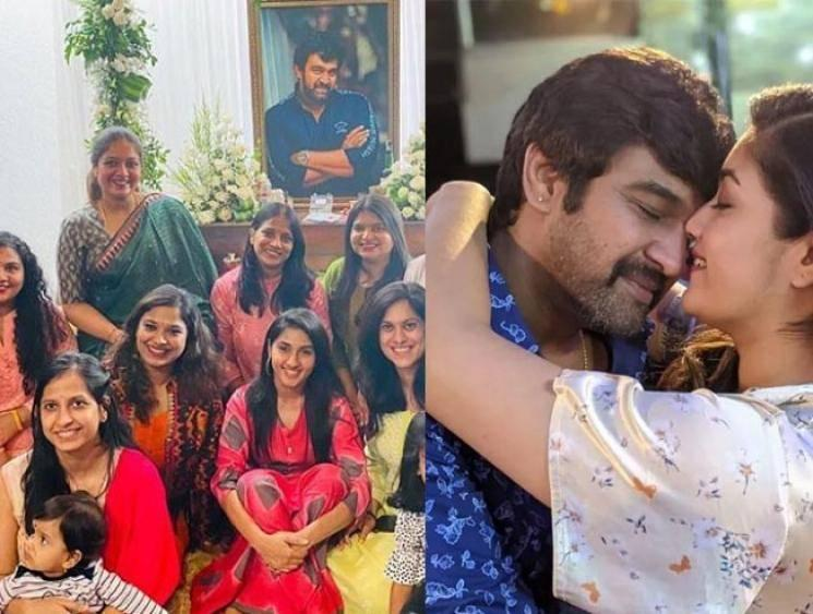 ''Love you Baby Ma'', actress Meghana Raj's emotional tribute to her husband!
