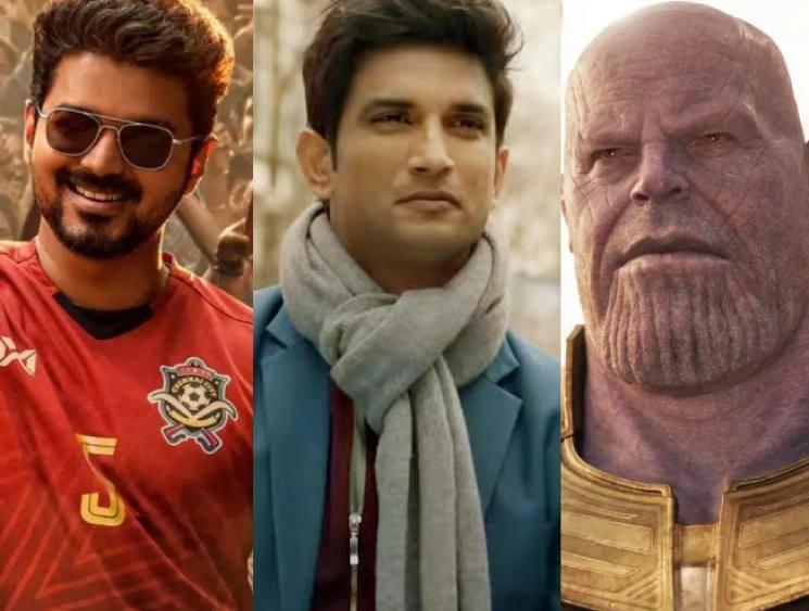 Sushant Singh Rajput's film is World No.1 - beats Avengers and Vijay's Bigil!
