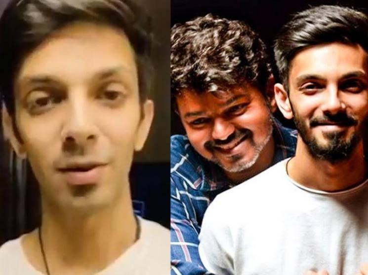 Anirudh's review of Master after re-recording for the film | Thalapathy Vijay