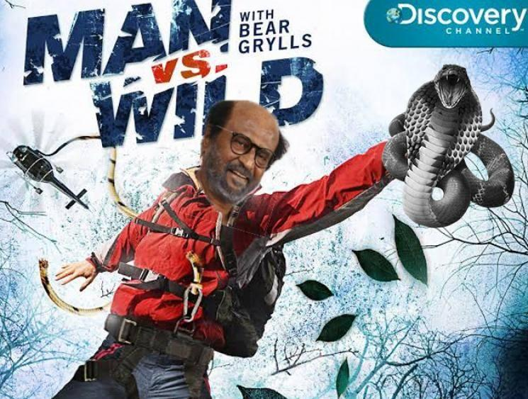Rajinikanth to feature in Man Vs Wild show with Bear Grylls- Tamil Cinema News