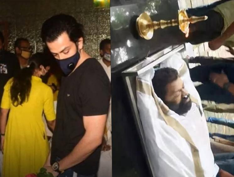 Ayyappanum Koshiyum director Sachy cremated   Heart-wrenching scenes from the funeral