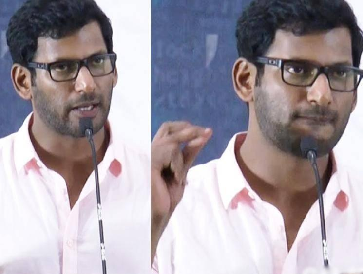 Vishal cheated by a woman - police complaint filed by Vishal Film Factory manager!