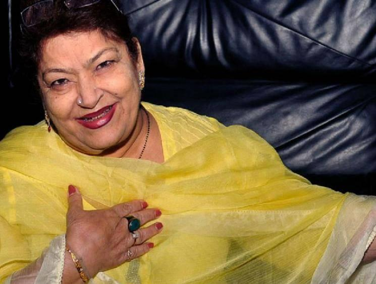 Legendary dance choreographer Saroj Khan no more!